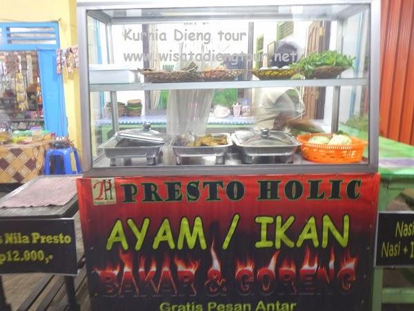 warung makan presto holic