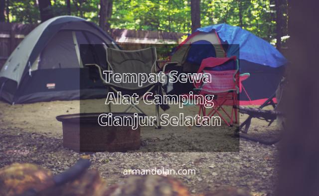 sewa alat camping cianjur selatan