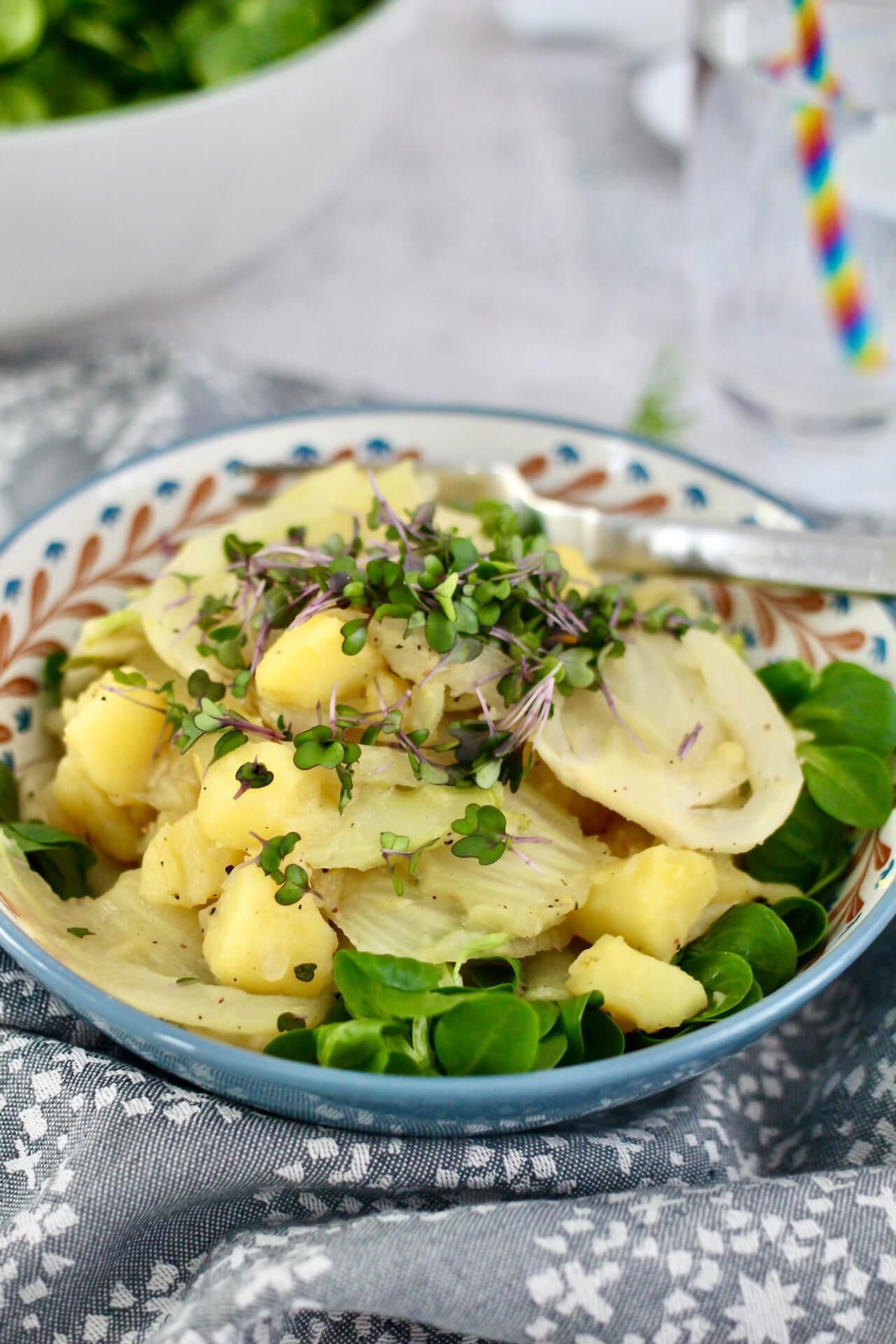 Basisches Kartoffel-Fenchelgemüse Rezept