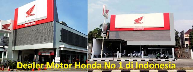 Dealer Motor Honda No 1 di Indonesia