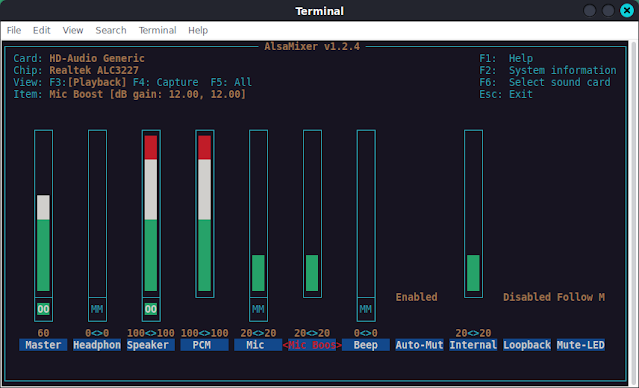 Mengatasi Suara Microphone yang Noise Pada Pulseaudio Linux