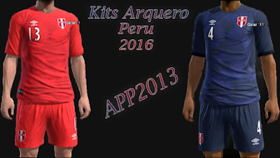 PES 2016 Peru 2016 Kits by APP2013