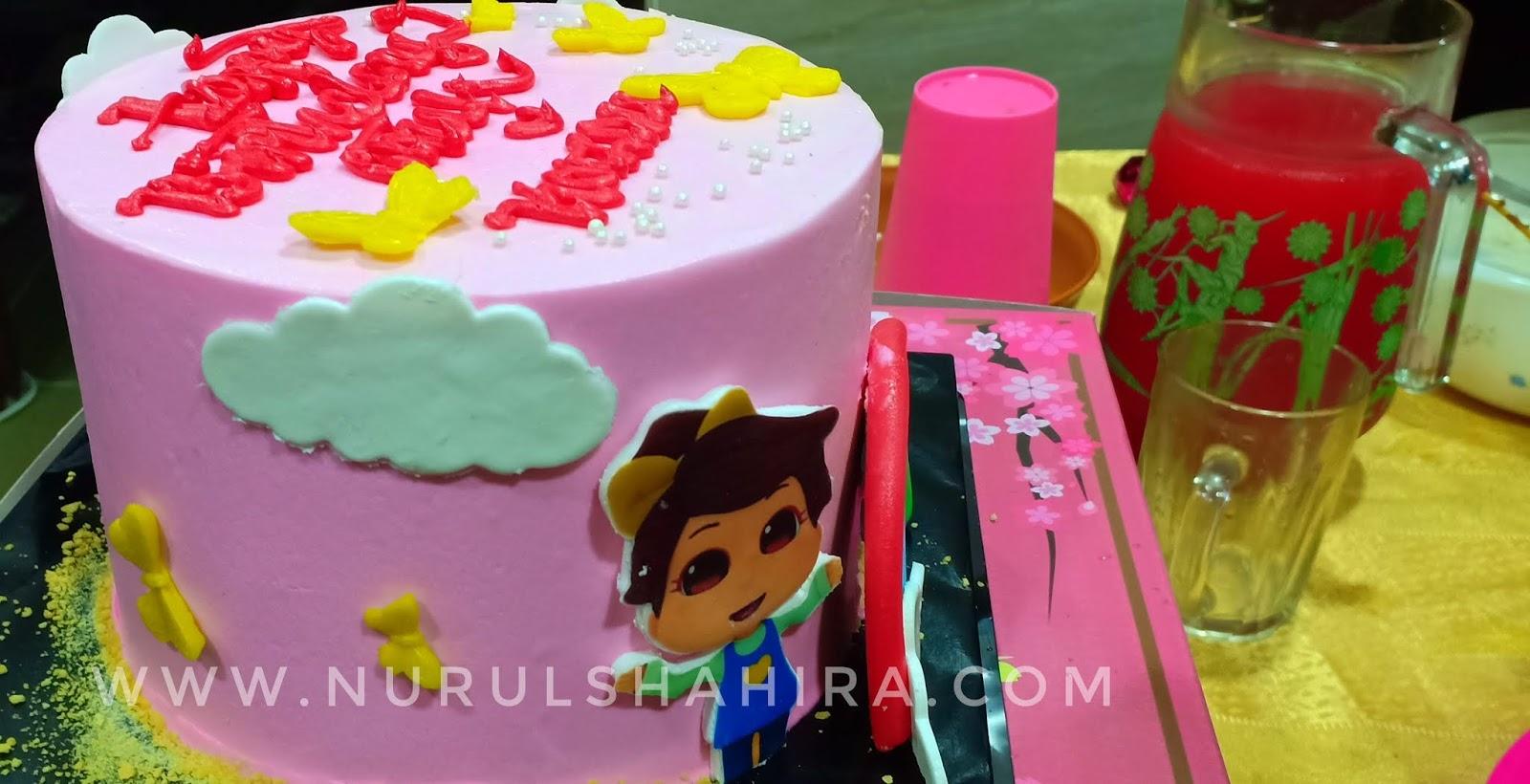 Kek Omar Hana Chocolate Fudge Mamasab Bakery | Sambutan hari jadi Atuk dan Kazim Mirza