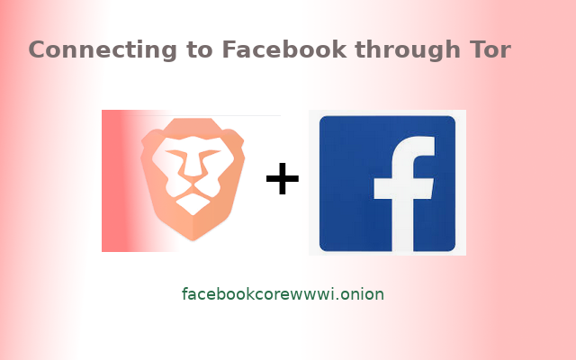 Connecting  Facebook through Tor, A way to access Facebook with a higher level of protection