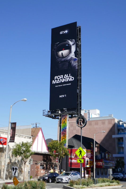 For All Mankind Apple TV billboard