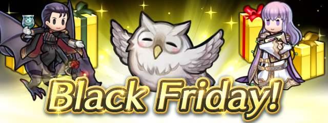 Fire Emblem Heroes (Mobile) tem eventos para comemorar a chegada da Black Friday