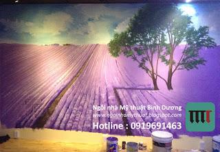 vẽ tranh tường rẻ đẹp tại biên hòa đồng nai
