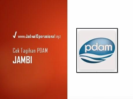 Cek Tagihan PDAM Jambi