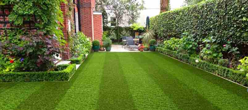 Use of artificial grass
