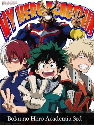 Descargar Boku no Hero Academia 3rd season [25/25] [HD] [MEGA]