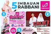 Promo Rabbani 5 IMBAUAN RABBANI