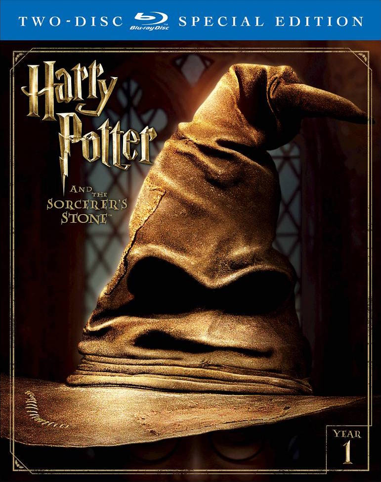 blu-ray and dvd covers: NEW HARRY POTTER BLU-RAYS AND COLLECTION