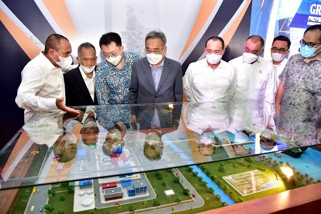Pembangunan PLTGU 1.600 MW di Batubara Dimulai