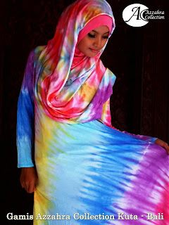 Gambar Gamis Pelangi Azzahra Collection