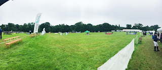 Hendersyde Park Horse Trials Showjumping Arena