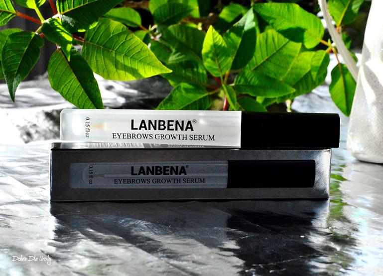 Serum do brwi Lanbena - recenzja