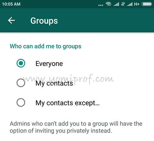 You Are In Control of Who Can Add You to Groups on WhatsApp With This New Update
