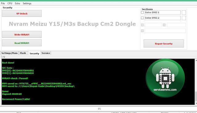 Nvram Meizu Y15/M3s Backup Cm2 Dongle