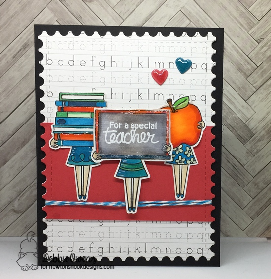 For a special teacher features Classy Teachers, Framework, and Darling Hearts by Newton's Nook Designs; #newtonsnook