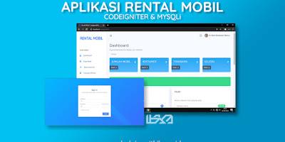Source Code Aplikasi Rental Mobil Berbasis Web Menggunakan Codeigniter Dan MYSQLi