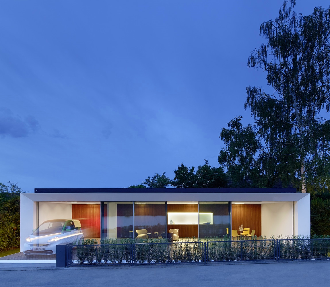 B10 Prefab House + Garage for Electric Car + Sustainable