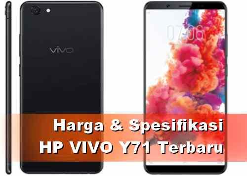 Harga HP Vivo Y71 dan spesifikasinya Terbaru