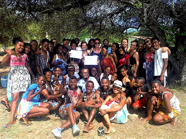 future leaders affecting gender equality FLAGE camp madagascar
