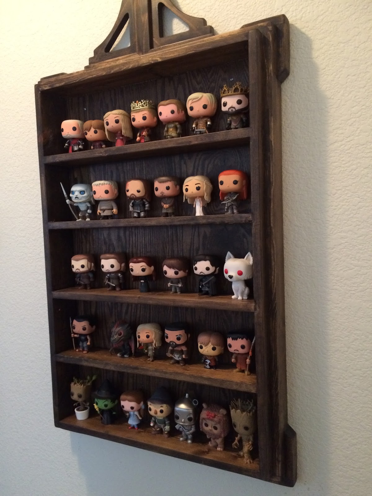 Timbo S Creations Wall Display Shelf For Funko Pop Figures