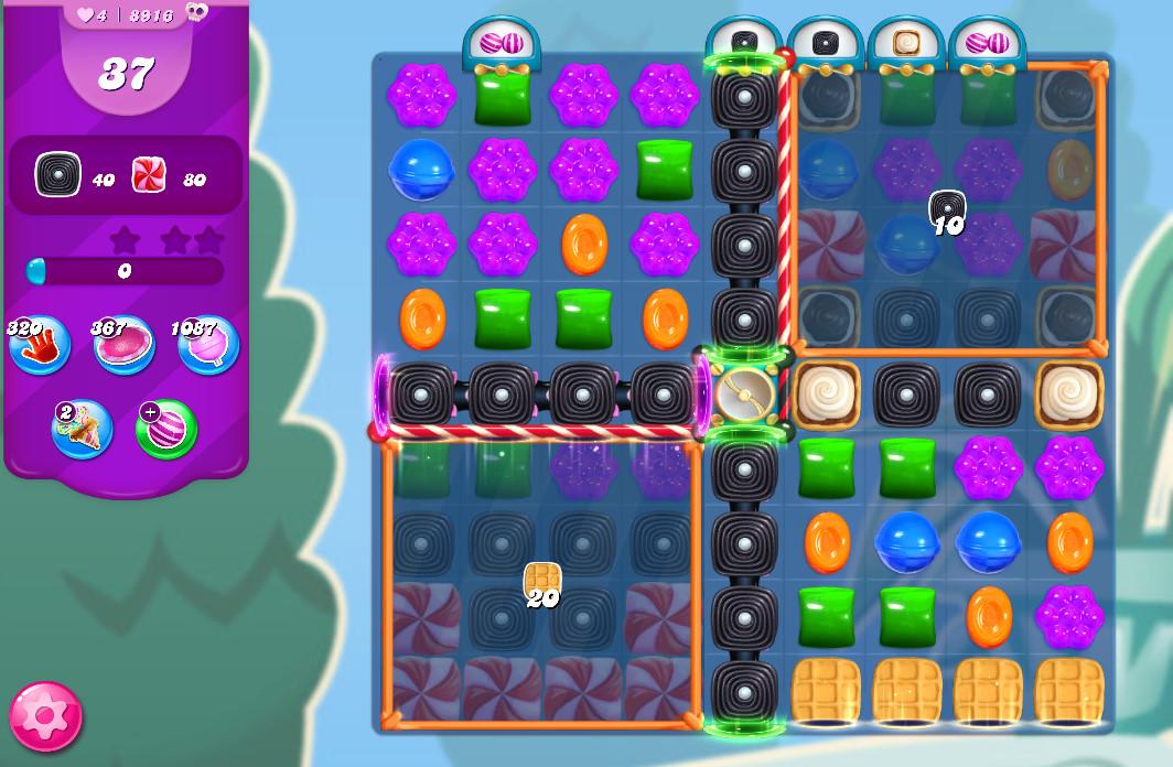 Candy Crush Saga level 8916