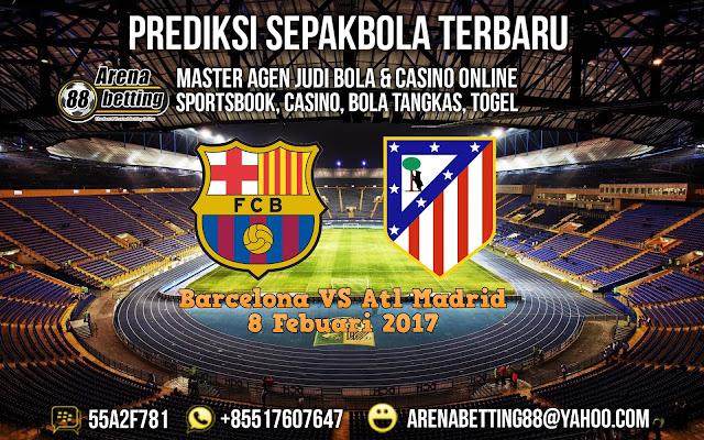 Prediksi Barcelona VS Atletico Madrid 8 Febuari 2017 Copa Del Rey