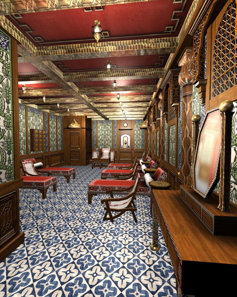 Interior Design Victorian Kitchen: Victorian Interior Design Model