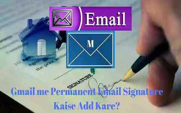 How to add email signature in Gmail app