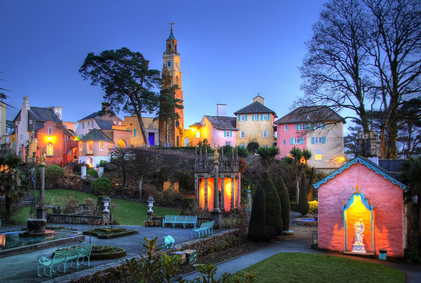 Planning a Weekend in Snowdonia  - Portmerion