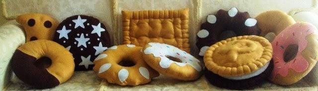 Cuscini Biscotto Dove Comprarli.La Favola Incantata Di Ieva Raffaella Cuscino Biscotto Un Idea