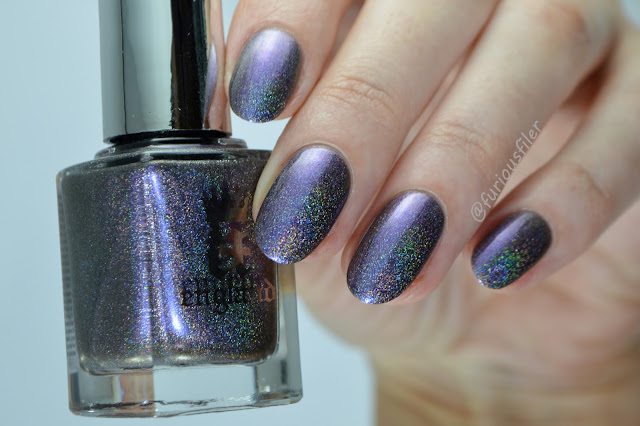 a england swatch waltz of the flowers holographic