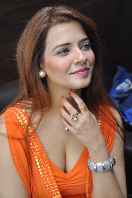 Actress saloni hot stills at MEK movie press meet