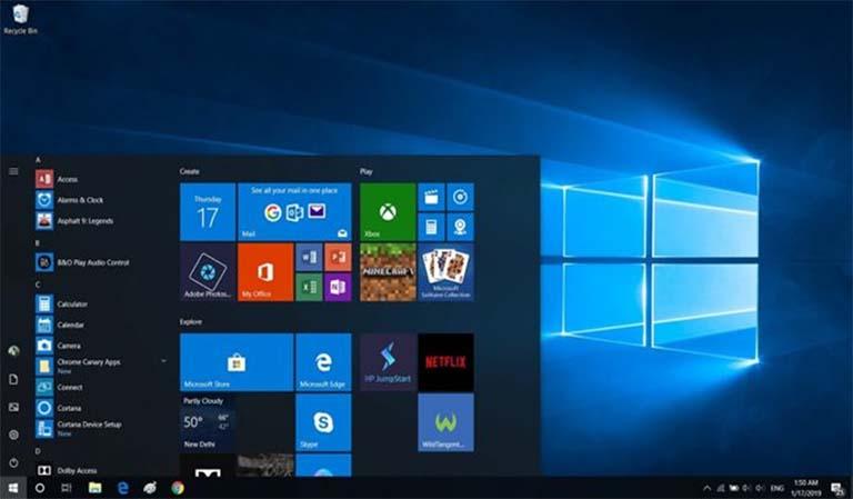 Bocoran Tentang Start Menu Windows 10 Yang Didesain Ulang Tanpa Live Tile
