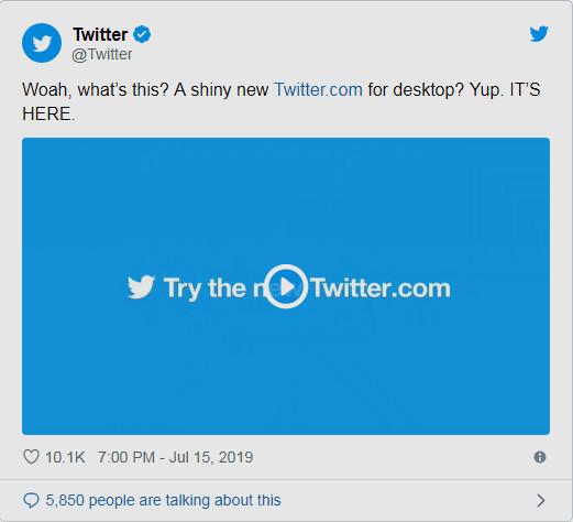 أهم المميزات فى تصميم تويتر الجديد 2019 وطريقة تفعيله