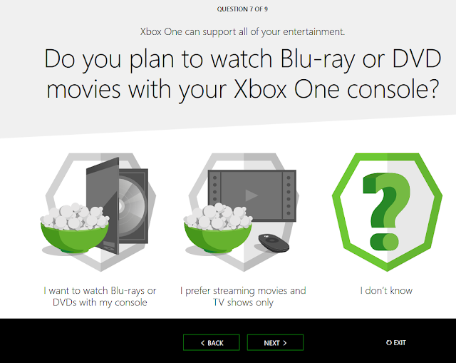 Xbox One selection quiz help me choose Blu-ray DVD movies