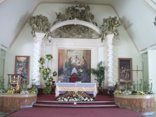 Altar of old Tagum Cathedral