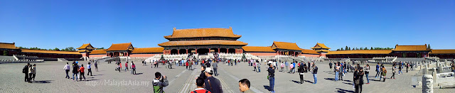Photography of Forbidden City
