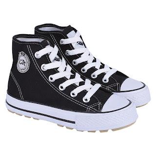 Sepatu Sekolah Anak Cowok CJA 102