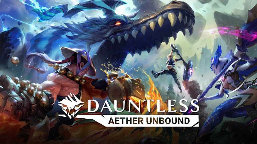 dauntless aether unbound content update pc epic games store ps4 xbox one free to play phoenix labs
