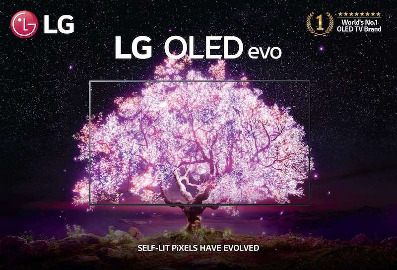 LG introduces newest OLED evo TV with a colorful campaign