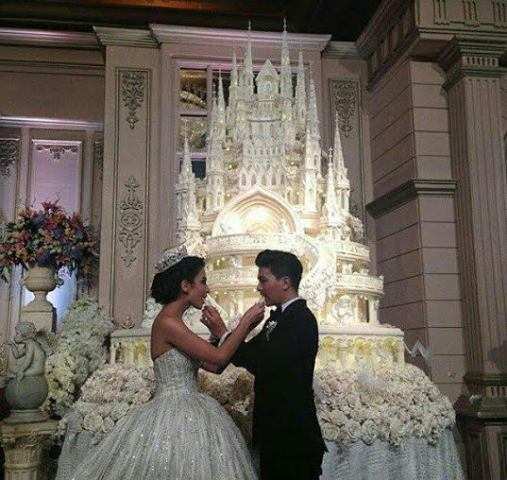 This  Castle Wedding Cake  can buy you a massive home This is the kind of wedding cake you see in Cinderella movies  those  animated movies