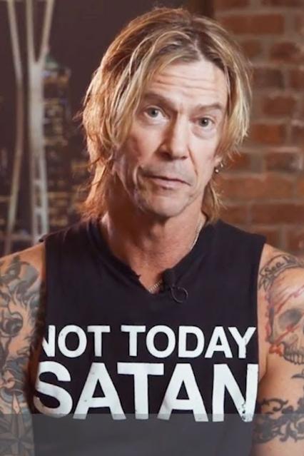 Duff McKagan shirt Not Today Satan.  PYGear.com