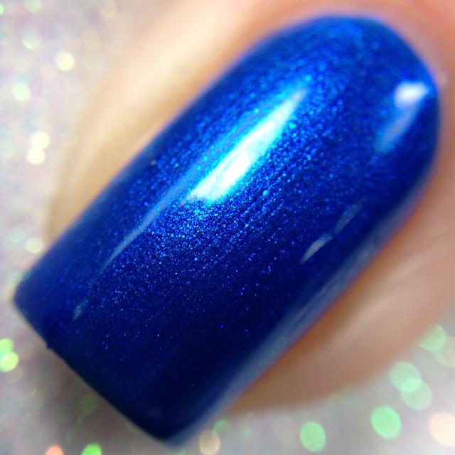 Tonic Polish-Blue Razz-Berry