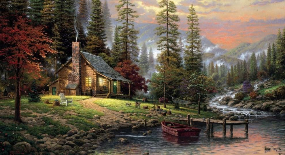 Background Pemandangan Alam
