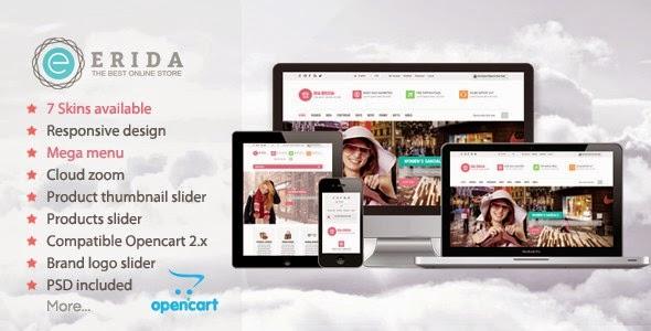 Free Responsive OpenCart Theme 2015