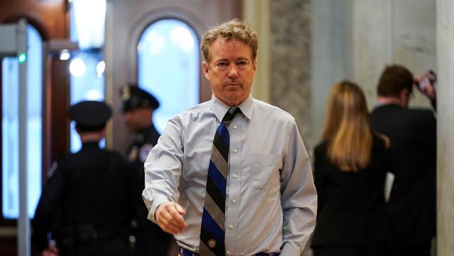 El senador de EE.UU. Rand Paul se cura de coronavirus y comienza a trabajar como voluntario en un hospital